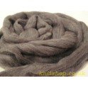 Granite Grey Merino Wool Tops 0.5kg 25 Micron