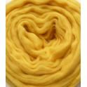 Cobalt Yellow Merino Wool Tops 0.5kg 25 Micron