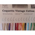 Coquette Vintage Cotton Yarn Shade Card