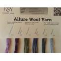 Allure Wool Yarn Shade Card