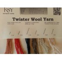 Twister Wool Yarn Shade Card