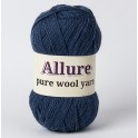 Glaucous Blue Allure Wool Yarn