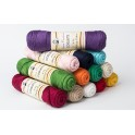 13 Sample Skeins of Coquette Vintage Cotton Yarn