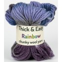 Night Sky Thick & Easy Rainbow Wool Yarn