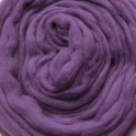 Plum Purple Merino Wool Tops 0.5kg 25 Micron
