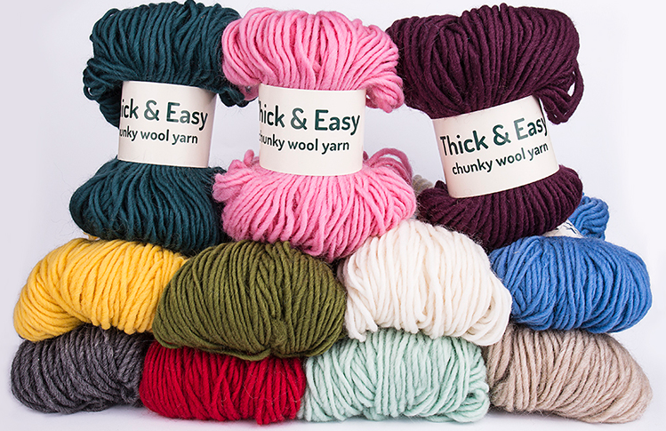 Thick & Easy Wool Yarn - Signature Range